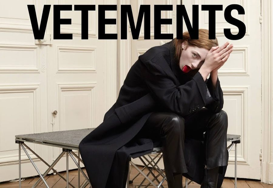 Vetements social media